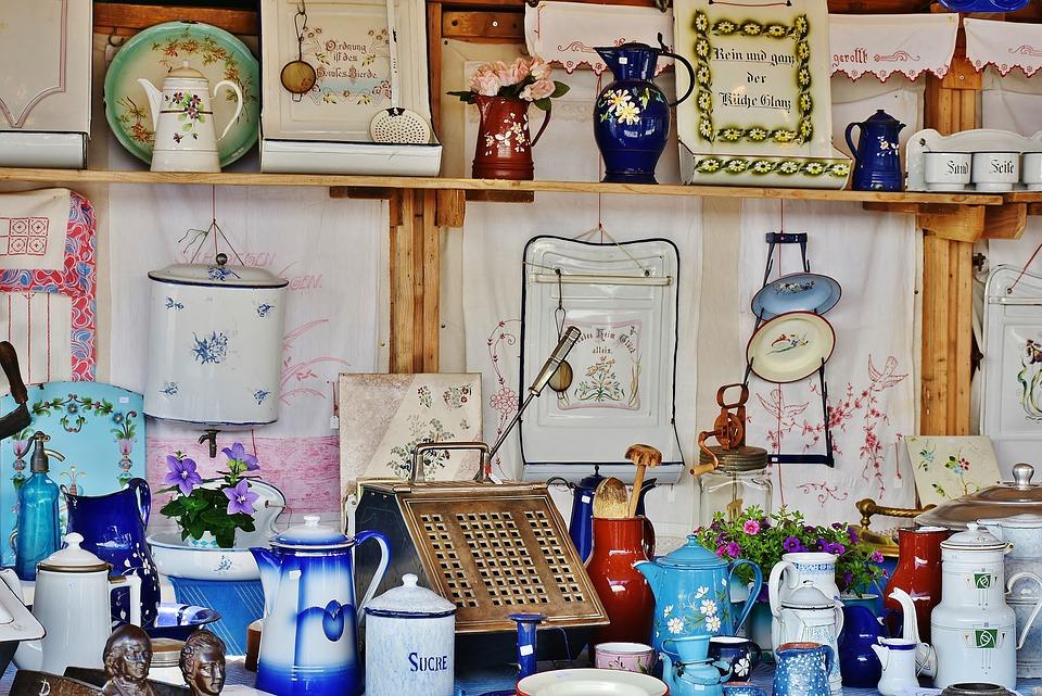 Junk, Antique, Old, Flea Market, Used, Antiques, Sale