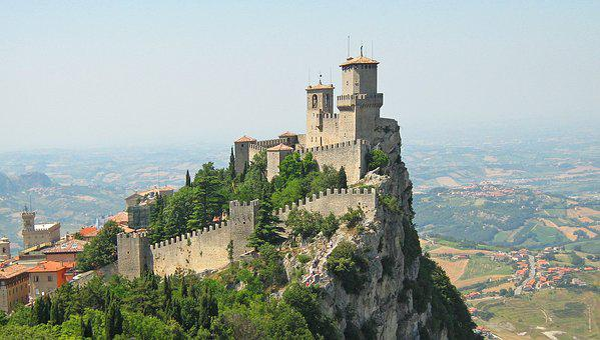 San Marino, Castle, Fortress, Rock