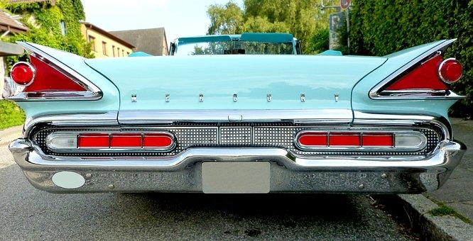 Mercury, Auto, Classic, Oldtimer