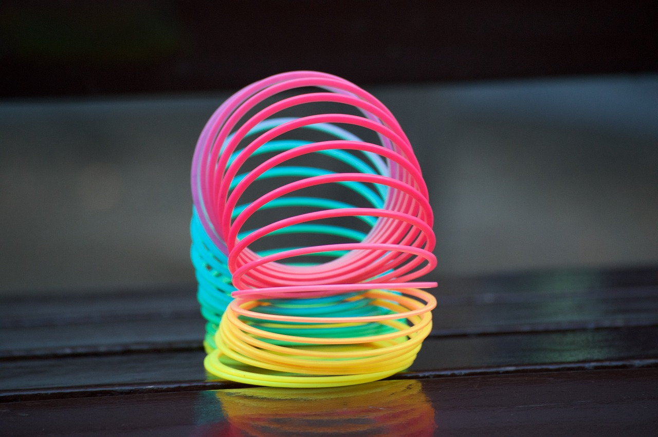 If you lined up all the slinkys ever made in a row they could wrap around the Earth 126 times
