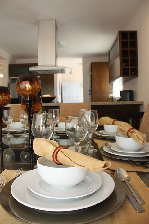 Inside Dining Room Table Setting House Decoration