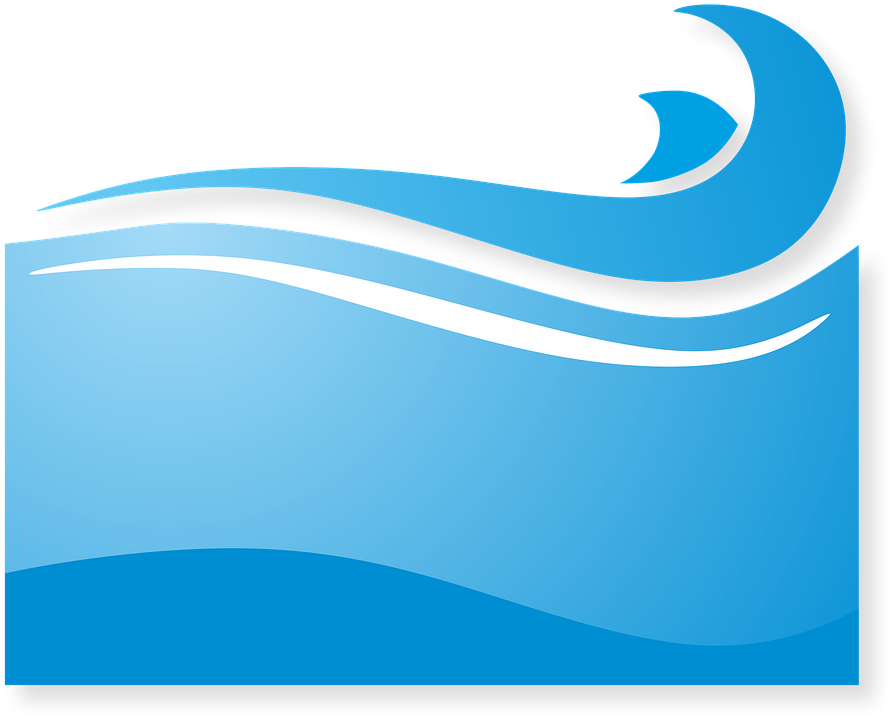Free Illustration: Sea, Logo, Blue, Liquid