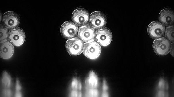 懐中電灯, ランプ, フォーカス, 照明, 光, ライト, Led