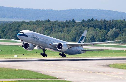 ボーイング777, キャセイパシフィック航空, チューリッヒ空港, ジェット