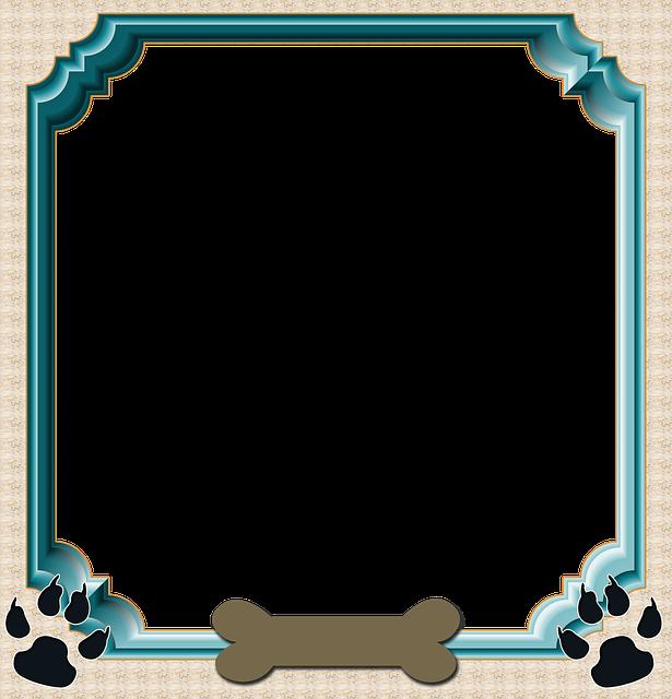 Frame Scrapbook Dog Pet · Free image on Pixabay