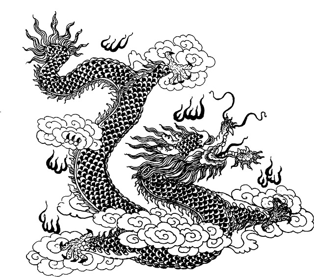 Dragon Trigger Painting Asian Free image on Pixabay
