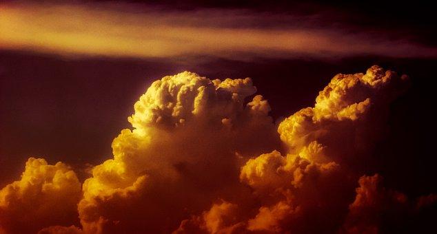 Clouds Black Sky Fire Revelation Revelatio