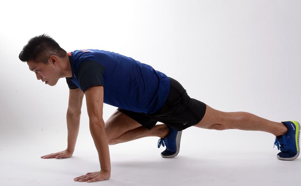 Sport, Fitness, Ejercicio, Pilates, Rostro Hombre