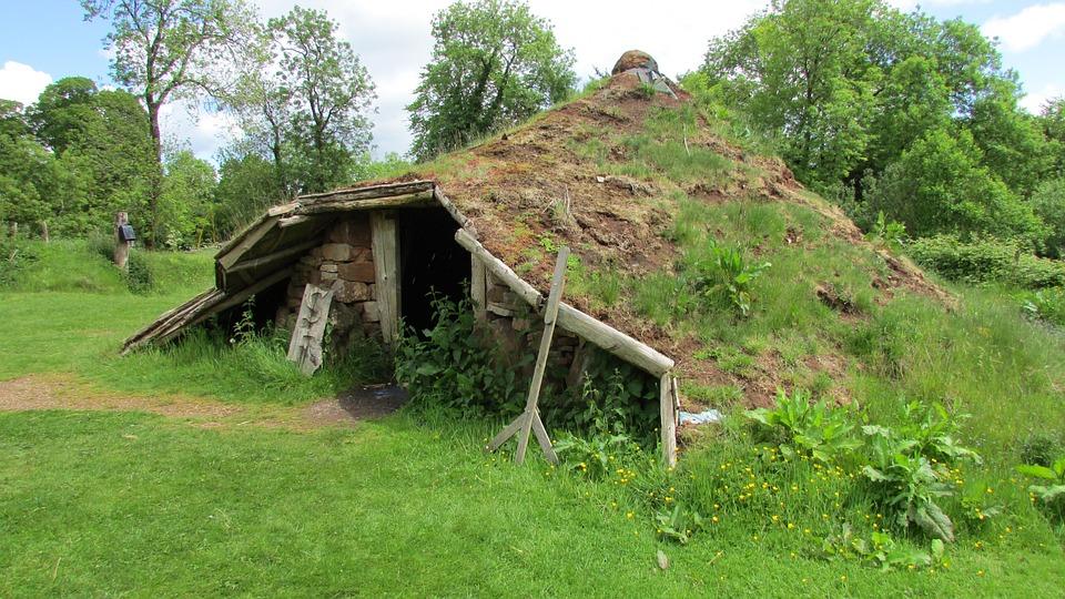Eisenzeit Hutte Rundes Haus Kostenloses Foto Auf Pixabay