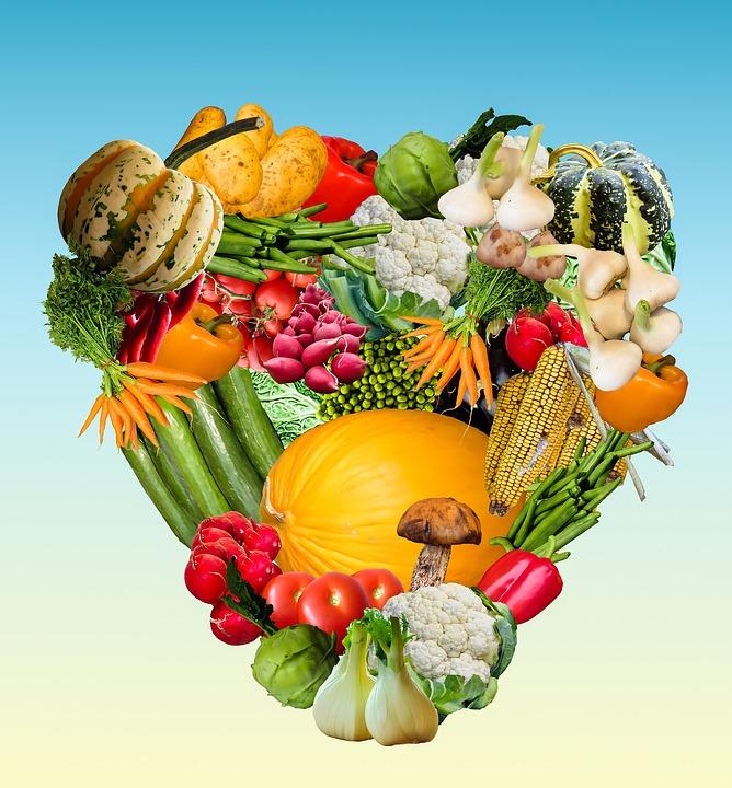 Heart Vegetables Harvest 183 Free Image On Pixabay