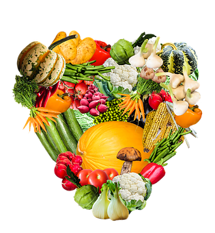 Heart, Vegetables, Harvest, Thanksgiving
