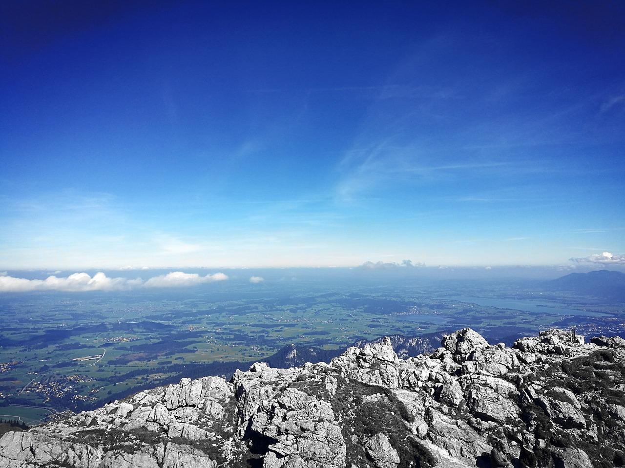 фотографии с горы небо птица