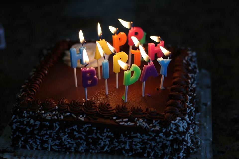 Happy Birthday Cake Free Photo On Pixabay