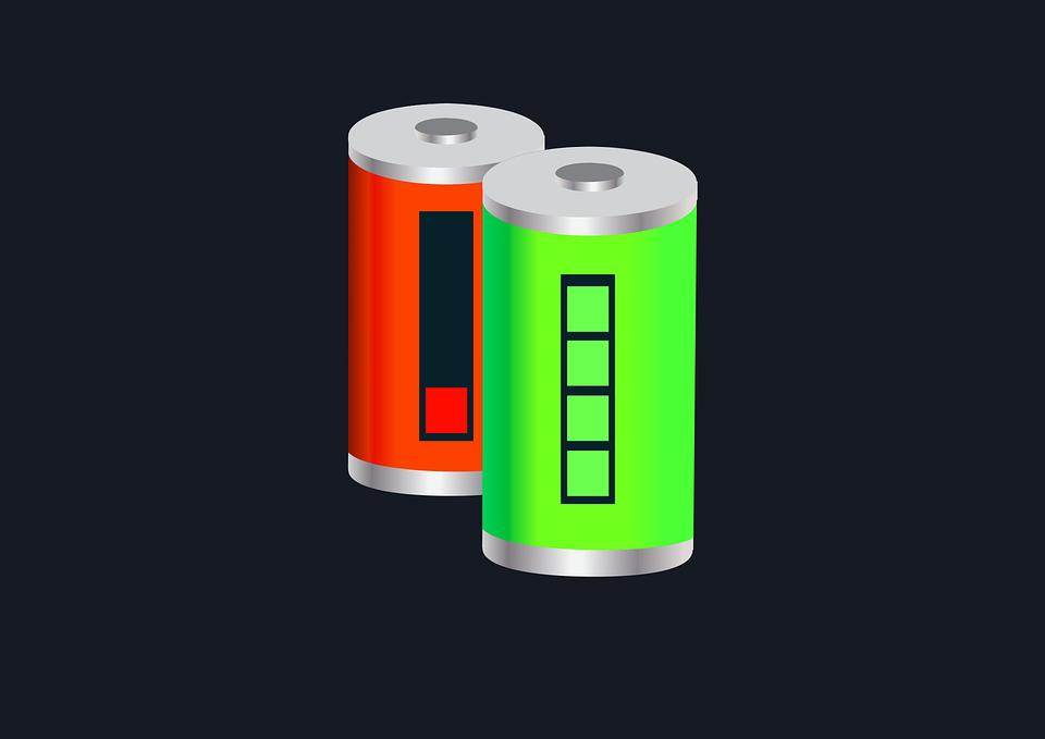 Bateria, Ładowanie, Wektor
