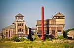 architecture, factory