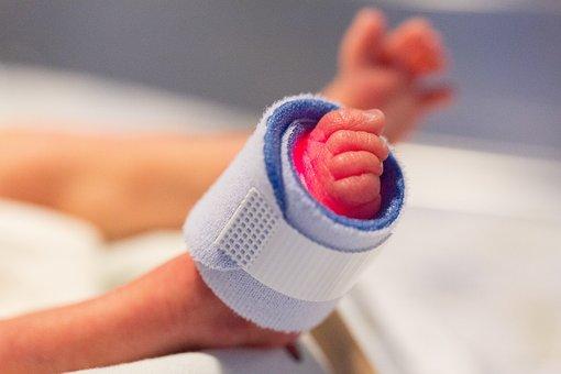 Pie, Bebé Prematuro, Niño, Recién Nacido