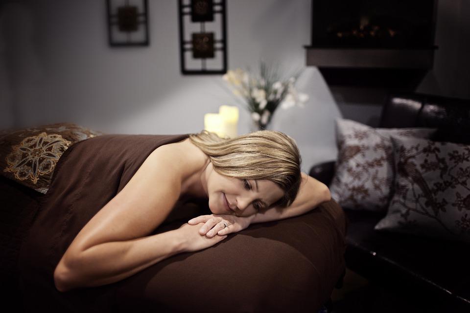 Ontspannen, Massage, Wellness, Vrouw, Rusten