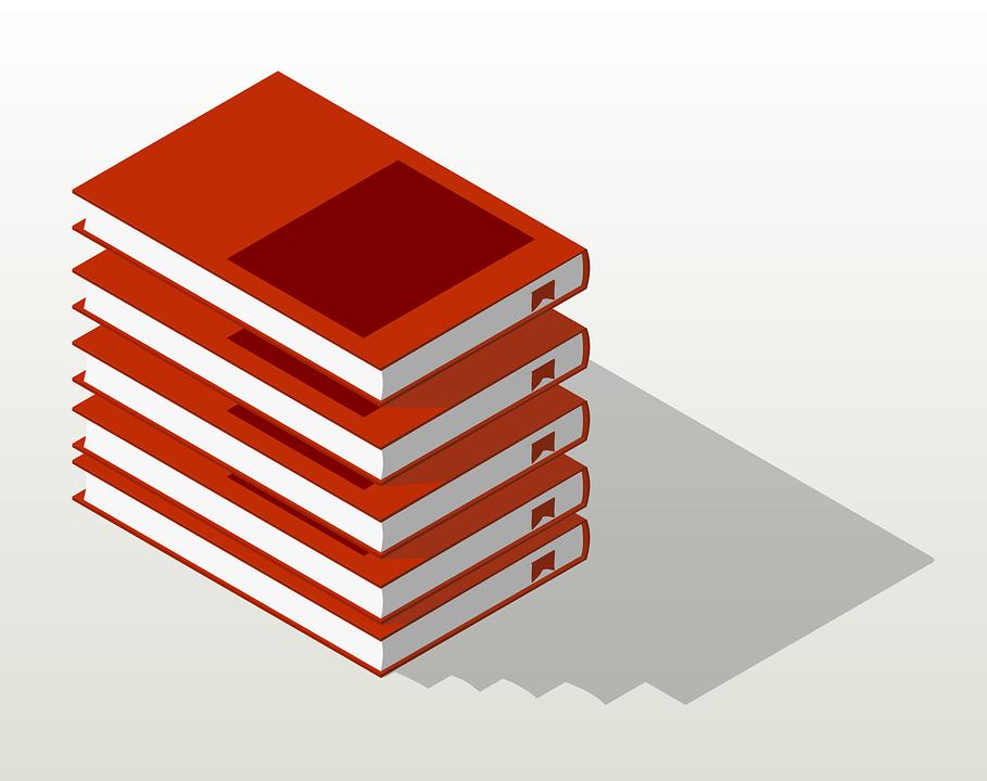 Bücherstapel clipart schwarz weiß  Kostenlose Vektorgrafik: Bücher, Stapel Bücher - Kostenloses Bild ...