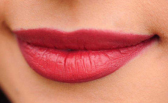 Lips, Red, Woman, Girl, Sexy, Makeup