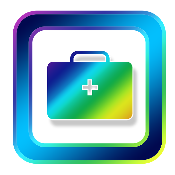 Kostenlose Illustration: Icon, Erste Hilfe, Koffer, Notfall ... | {Erste hilfe symbol 78}