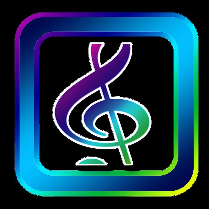 icon music clef treble clef symbols online