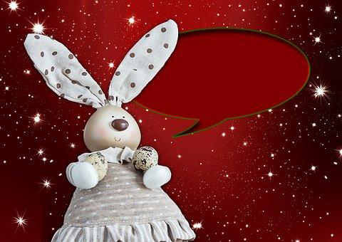 Christmas, Hare, Holidays, Greetings