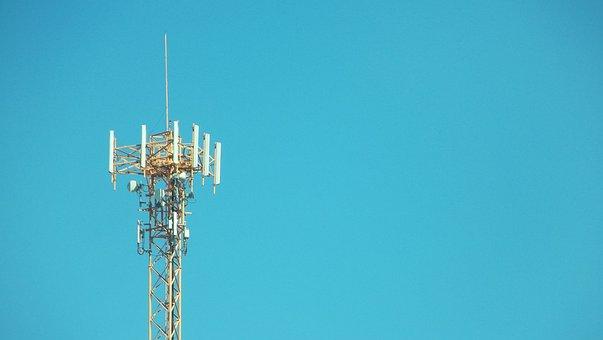 Telecomunicaciones Celular Red Antena Móvi