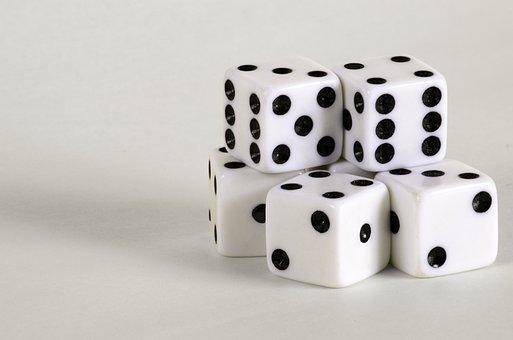 Games, Die, Dice, Spot, Dot, Cube, Luck