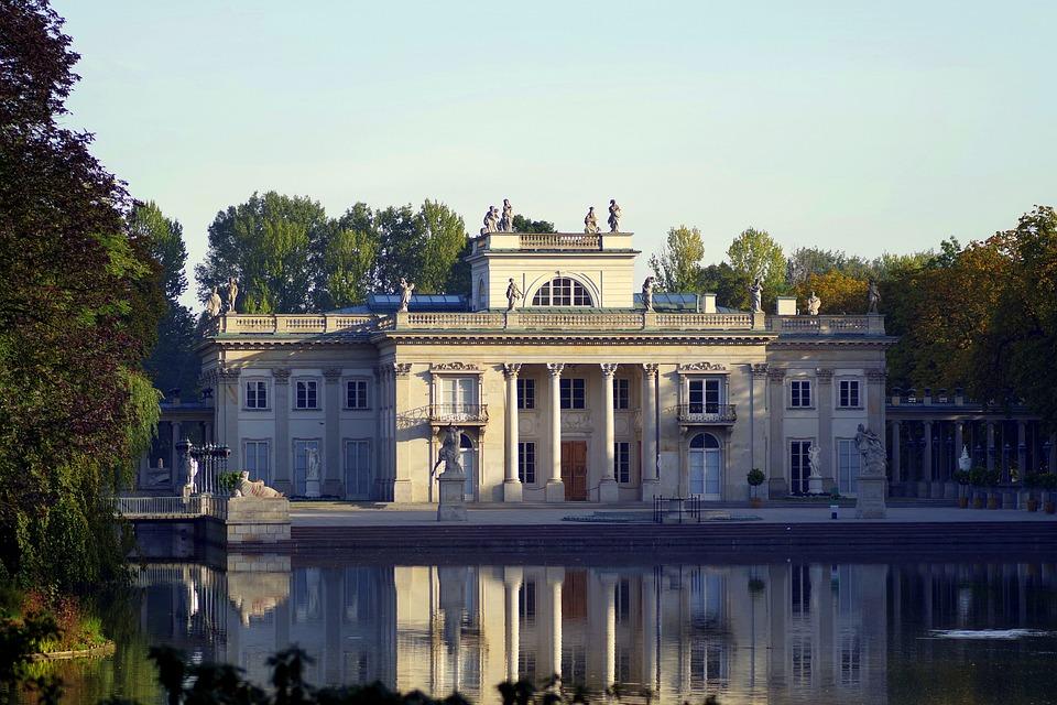 łazienki Królewskie Warszawa Darmowe Zdjęcie Na Pixabay