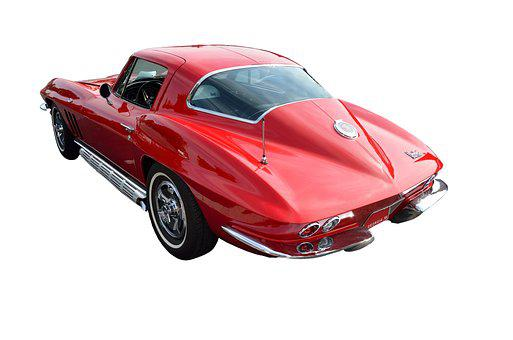 Corvette Stingray, Automobile, Car