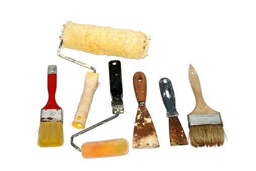 Wall painting tools