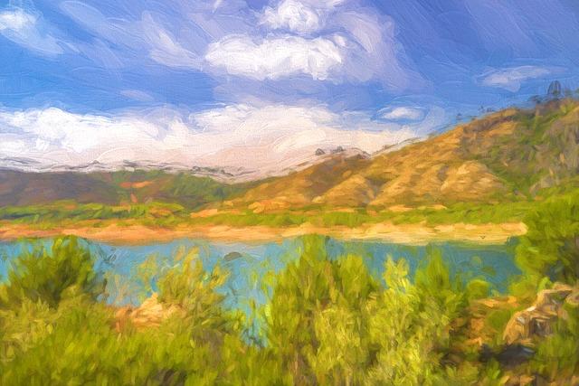 Paintings Face Landscape