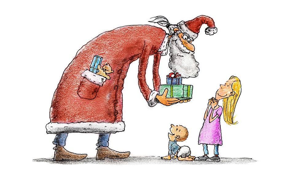 Nikolaus Kinder Geschenke Kostenloses Foto Auf Pixabay