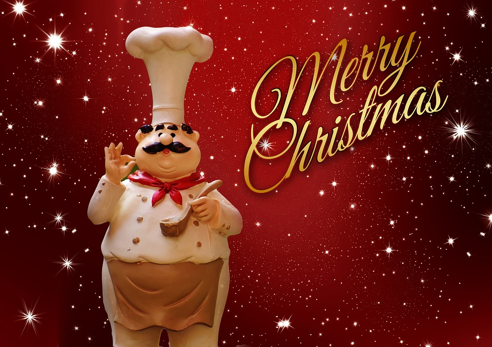 Free Illustration Christmas Cooking Chef Holidays