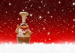 christmas, cooking, chef