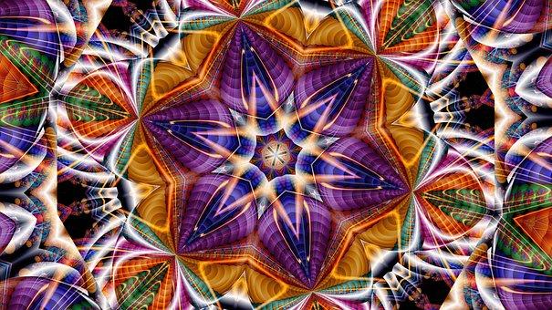 Kaleidoscope, Pattern, Kaleydograf