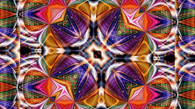 Free Illustration Kaleidoscope Pattern Kaleydograf