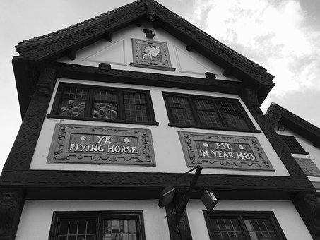 Flying Horse, Pub, Nottingham, England