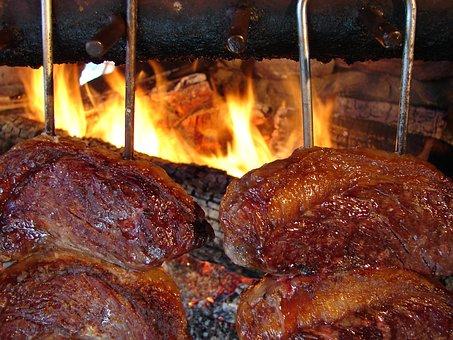 Churrasco, Fogo De Chão, Picanha, Carne
