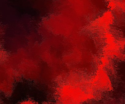 Texture Painting Background Red Paint