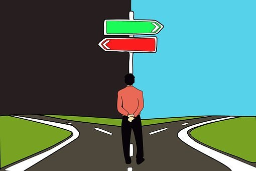 Decision, Choice, Path, Road