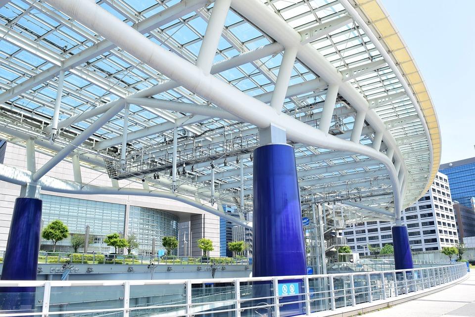 名古屋, 日本, アーキテクチャ, 愛知県, 魅力, 公園, 建物, 空, 青, デザイン