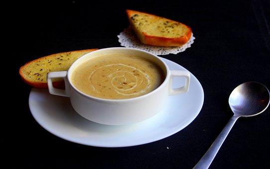 Soup, Steaming, Bread, Soup, Soup, Soup