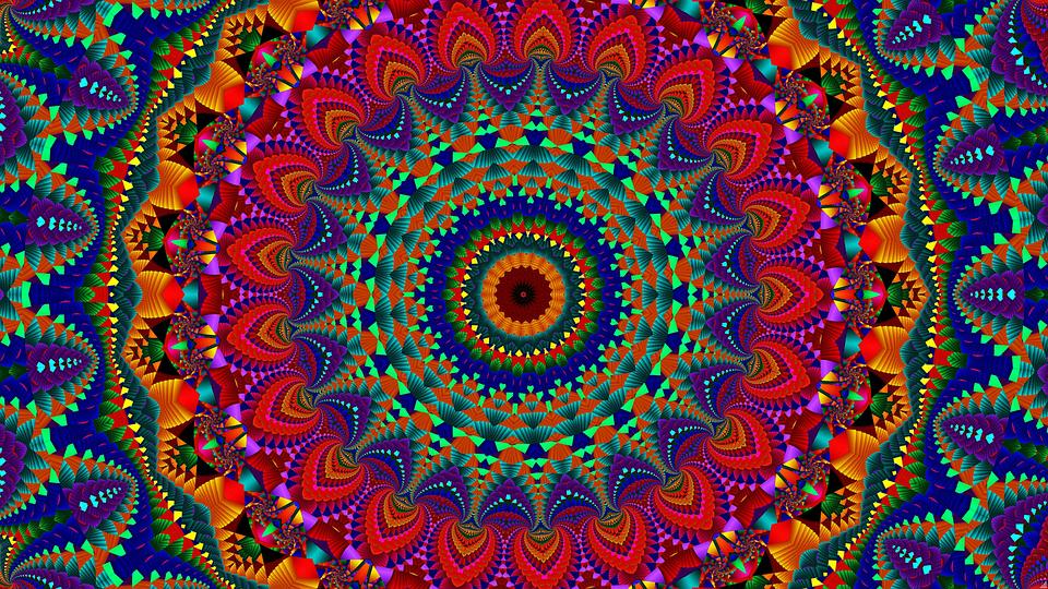 kaleidoscope mandala pattern free image on pixabay. Black Bedroom Furniture Sets. Home Design Ideas