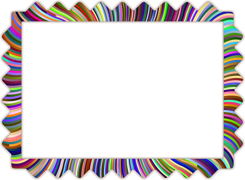 Photo Frame Rainbow Range · Free image on Pixabay