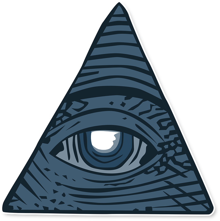 All Seeing Eye Dollar Conspiracy Free Vector Graphic On Pixabay