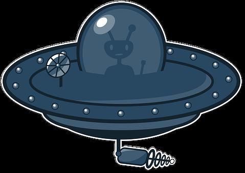 UFO, Alien, Flying Saucer