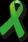ribbon, tape, green