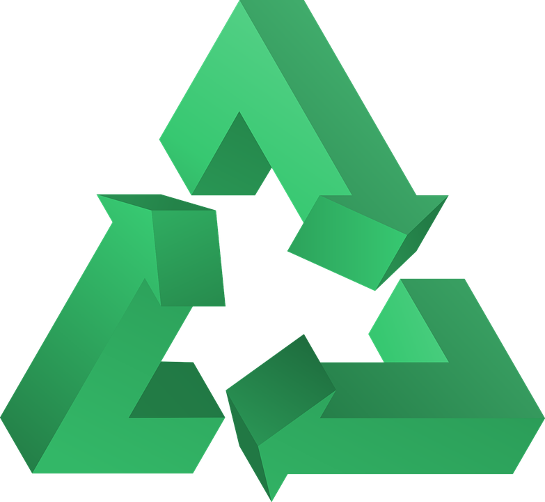Recycle Triangle Symbol Free Vector Graphic On Pixabay