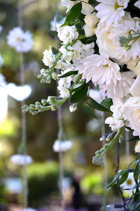 White flowers wedding decorations free photo on pixabay white flowers wedding decorations hanging flowers mightylinksfo